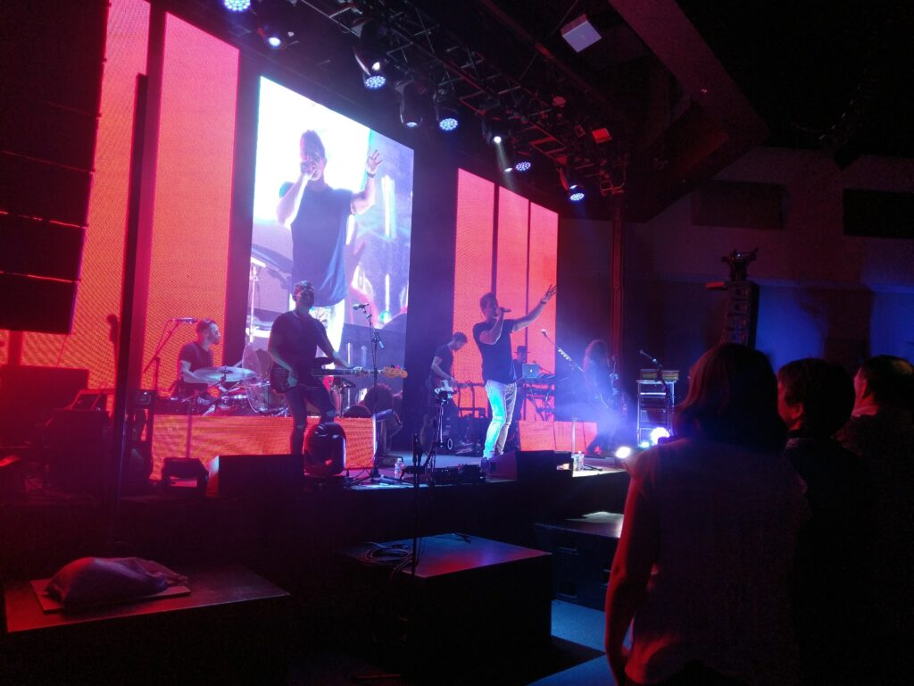 Jeremy Camp on stage at RMC 2016